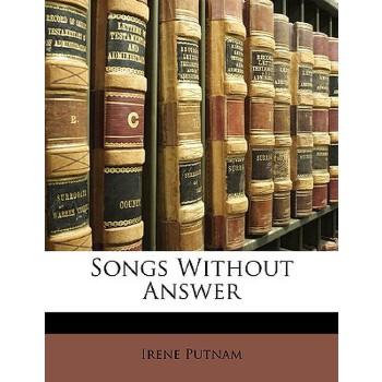【预订】Songs Without Answer 预订商品,需要1-3个月发货,非质量问题不接受退换货。