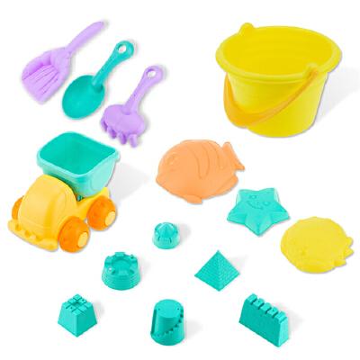 B+BG ENSWEET 儿童沙滩玩具套装 玩沙子沙漏铲子工具