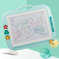儿童画板磁性写字板笔彩色小孩幼儿磁力宝宝涂鸦板1-3岁2玩具