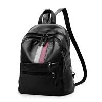 女士包包新款潮双肩包女韩版时尚个性百搭大容量背包软皮女包