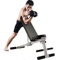 一体式免安装多功能可折叠哑铃凳仰卧起坐板家用健身器材 豪华升级款