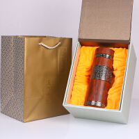 公司商务礼品实用年会新年春节活动创意红木礼物送客户定制LOGO
