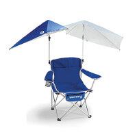 户外休闲折叠遮阳椅便携式钓鱼沙滩椅露营椅剧组椅靠背椅子 加大号遮阳椅