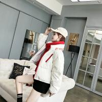 Freefeel2018秋冬新款棉衣女短款时尚流行羽绒服韩版休闲面包服DP-809
