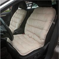 汽车坐垫冬季保暖毛绒单片加厚防滑通用座垫椅子餐桌椅垫内饰用品