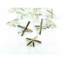 台球杆十字架头架杆头铜架子十字叉美式黑八架杆器配件661845