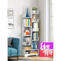 简易书架落地简约现代小书柜经济型置物架学生树形书架省空间 i6j