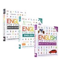 【首页抢券300-100】DK English For Everyone Vocabulary Grammar Idio