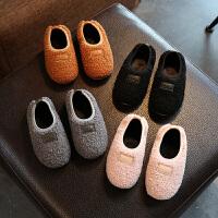 2017冬季新款百搭休闲儿童棉拖鞋小孩包跟女童室内保暖男宝宝棉鞋