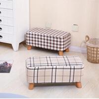 御目 凳子 时尚创意换鞋凳长凳实木矮凳梳妆凳客厅茶几凳沙发凳卧室凳成人儿童板凳创意家具