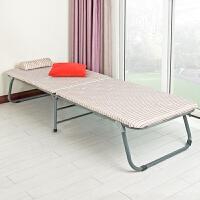【当当自营】阿栗坞 折叠床 加固折叠午休床 办公午休神器 单人床 米黄色带条纹 2012