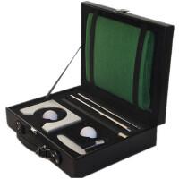 GASLION/格狮伦高尔夫推杆练习皮盒套装GGRF007室内高尔夫礼盒