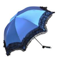 天堂伞33051E娴淑佳丽折叠公主蘑菇伞遮阳防晒太阳伞优雅成熟