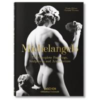 米开朗基罗绘画雕塑建筑作品全集 Taschen 英文原版 Michelangelo: The Complete Paintings, Sculptures米开朗琪罗