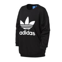 adidas阿迪达斯三叶草女子卫衣2018休闲运动服BP9494