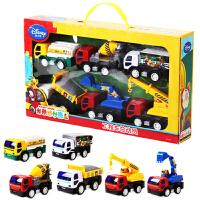 儿童玩具车套装工程车模型惯性汽车油罐车挖掘机卡车挖土机
