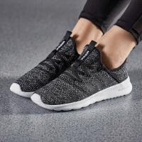 adidas阿迪达斯NEO女子休闲鞋2018新款迪丽热巴同款透气缓震轻便运动鞋DB1769