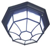 户外防水防潮吸顶灯室外阳台露台门口过道走廊欧式复古八角灯LED