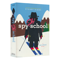 【首页抢券300-100】Spy Ski School 间谍滑雪学校儿童章节书 英文原版进口图书 儿童英文阅读侦探小说