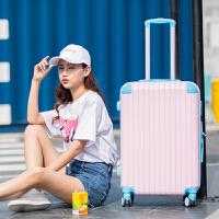 撞色万向轮拉杆箱20寸糖果色小清新行李箱女韩版学生24密码旅行箱