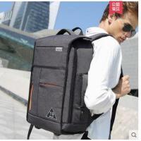 �n版�p便大容量手提出差旅行包男士�p肩包商�针��X包17寸多功能防�I背包