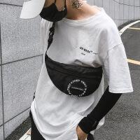 胸包男韩版潮斜挎包包女个性休闲多功能单肩包腰包嘻哈潮牌