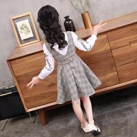 女童春装新款连衣裙儿童装套装裙韩版公主大小女孩洋气时尚潮