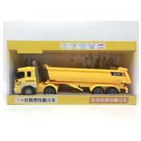 儿童玩具仿真工程车会讲故事的大号惯性叉车扫地车 模型男孩玩具礼物