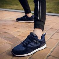 保暖老人鞋男冬季中老年防滑休闲运动健步鞋软底父亲鞋爸爸妈妈鞋