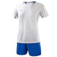 李宁足球服套装AATK041 男短袖球衣夏季训练服队服组队比赛印号定制