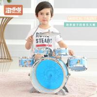 爵士鼓音乐玩具儿童架子鼓打击乐器宝宝敲打玩具鼓早教益智3-6岁
