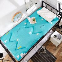 折叠床垫学生宿舍褥子单人床垫子1.2米加厚0.9寝室垫被席梦思垫子