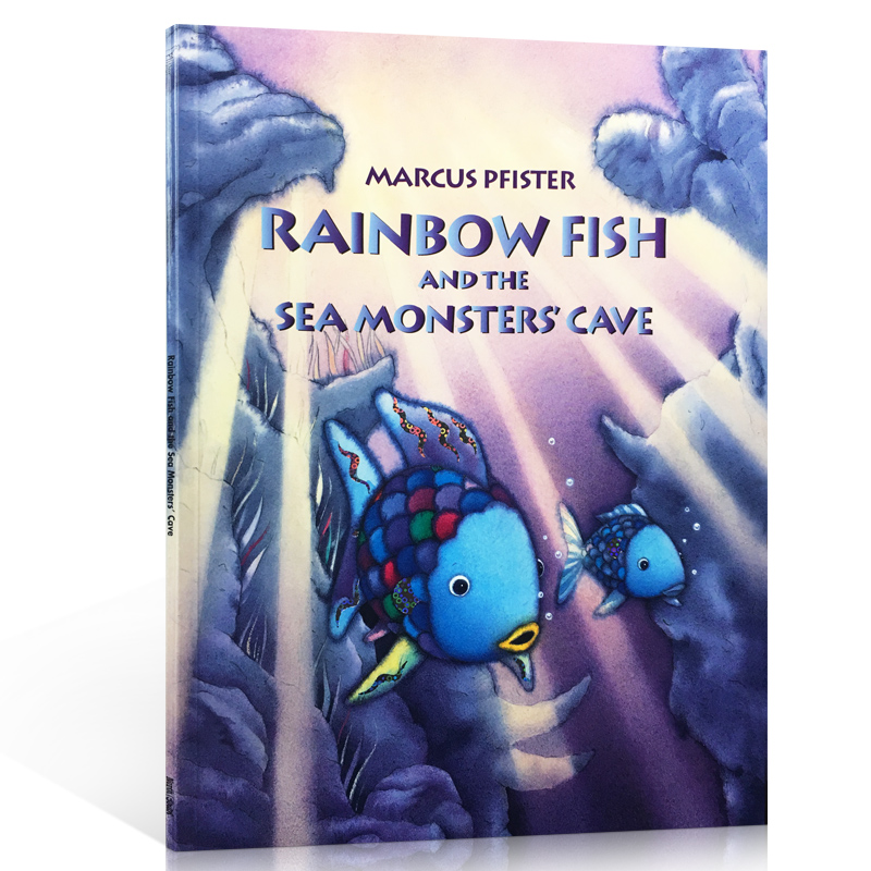 Rainbow Fish and the Sea Monsters' Cave 彩虹鱼系列:我才不怕呢ISBN9783314017339