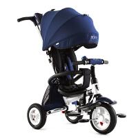 【支持礼品卡】儿童三轮车折叠1-3-6岁婴儿手推车小孩自行车宝宝脚踏车w0y