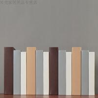 时尚简约假书客厅样板房软装饰品摆件书柜装饰书道具书摆设新款