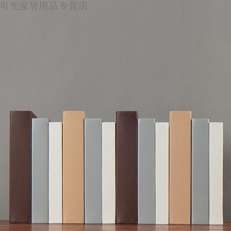 时尚简约假书客厅样板房软装饰品摆件书柜装饰书道具书摆设新款 发货周期:一般在付款后2-90天左右发货,具体发货时间请以与客服协商的时间为准