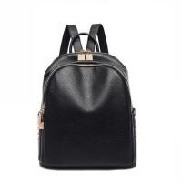 韩版休闲旅行包 双肩包女学生背包铆钉背包软皮书包