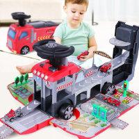 儿童工程消防玩具车合金小汽车套装0模型1-2-3-4-5岁男孩小孩男童