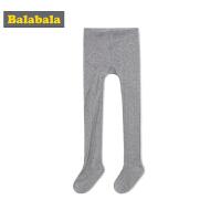 巴拉巴拉儿童袜子秋季薄款宝宝棉袜女童长筒袜透气打底袜连裤袜棉