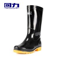 回力雨鞋男士水靴套鞋钓鱼鞋雨鞋雨靴男短筒中筒高筒防水鞋胶鞋水鞋男