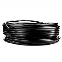 移动电缆盘绕线盘空盘接线板卷线轮线缆拖线盘线轴电线收线器 2x4平方纯铜电缆 40米