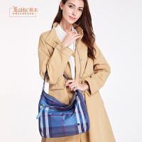【2.5折价:206】莱夫2018新款包包女士手提包时尚休闲大气帆布包百搭大容量单肩包