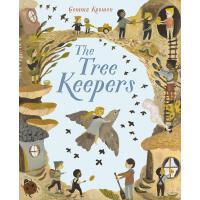 英文原版 树的守护者 Gemma Koomen 插画绘本 The Tree Keepers: Flock 情商启蒙培养