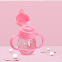 儿童水杯婴儿吸管杯宝宝学饮杯家用婴儿男女喝水杯子防摔1一3岁学饮杯宝宝吸管杯 ij7