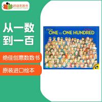 美国进口 绝佳创意数数书 From One to One Hundred 从一数到一百数字启蒙必备 平装