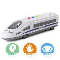 儿童玩具车惯性车和谐号列车动车组火车头音乐车高铁声光男孩模型
