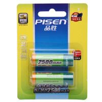 【包邮】品胜(PISEN)5号电池/7号电池 AA镍氢充电电池800/2500mAh(2只装)
