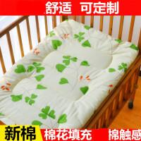 定做棉花婴儿床褥子幼儿园床垫背褥儿童床褥子棉絮被褥春秋棉被T