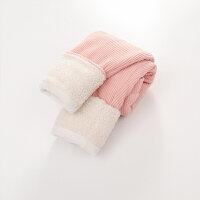 女童棉裤加绒冬季外穿三层女宝宝婴儿童一条过冬保暖打底裤子