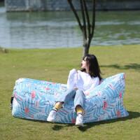 充气沙发 户外懒人充气沙发袋空气床垫野外气垫床椅子便携式单人折叠抖音